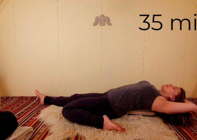 Legs, hips & spine