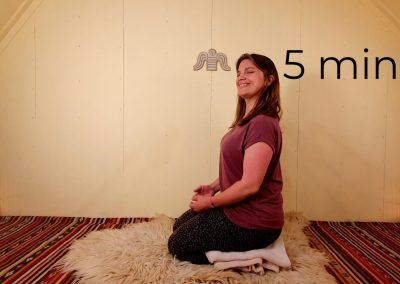How to sit in meditation