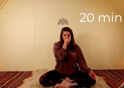 Intro to Pranayama technique 'Nadi Shodhana'
